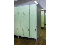 Garderobeskap arbeidsplass