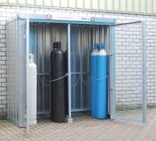 Lagring av gassflasker